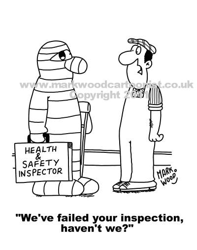 Health and Safety cartoons available for use now!