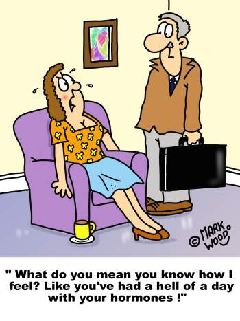 Menopause Cartoons available for use now!