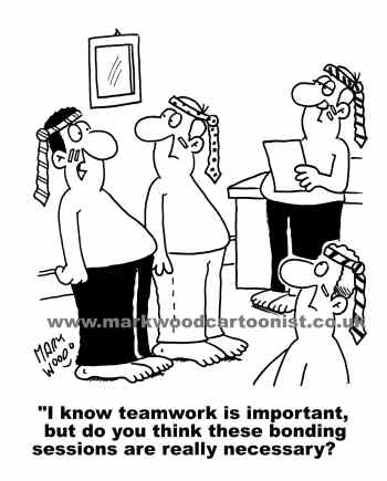 Teamwork Cartoons Available For Use Now